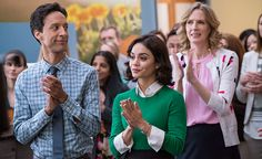 Superheroes become the sidekicks in Powerless, an office comedy set in the DC Universe. Vanessa Hudgens stars as Emily Locke, an empathetic insurance claims adjuster assessing superhero related damages to the ironically named Harmony city. http://l7world.com/2016/06/dc-comics-powerless-cast-reveals-not-secret-identities.html
