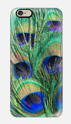 iPhone 6 Case  Peacock Feather iPhone 6 by cellcasebythatsnancy