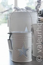 Riverdale Lantaarn Star White 20cm