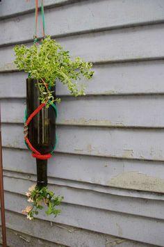 DIY Wine planter
