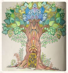 352 Best Coloring Enchanted Forest Images On Pinterest