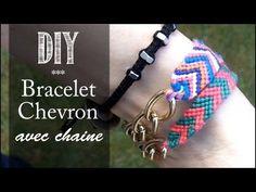 D I Y Tuto: Comment Faire les Bracelets d'amitié/bresilien avec chaine