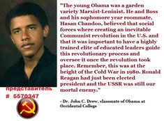 quote by one of Obama's college classmates