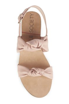 Knotted slingback sandals | Sole Society Ananda
