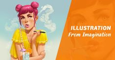 New Course: Master color, light, anatomy, & composition, and learn how to paint a beautiful digital illustration from imagination in just 6 weeks!