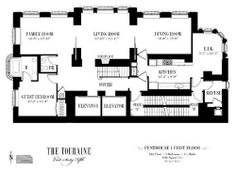 (1/2) The last remaining penthouse at Toll Brothers' Upper East Side condo project the Touraine recently went on the market for $20 million. Touri...