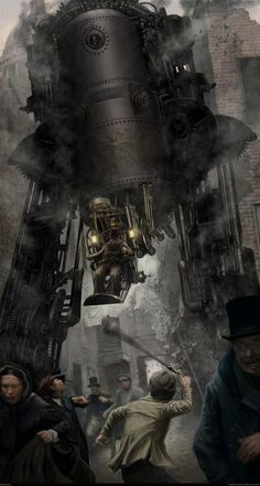 Steampunk art repinned by BroCoLoco.com repinned by www.BlickeDeeler.de