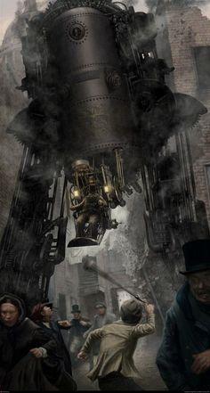 Steampunk art repinned by BroCoLoco.com repinned by www.BlickeDeeler.de