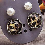 New European and American retro leopard pearl... – USD $ 0.99