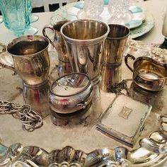 DM for deets ❤️ Moscow Mule Mugs, Antique Silver, Nostalgia, Antiques, Tableware, Collection, Instagram, Antiquities, Antique