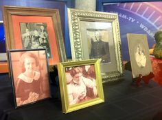 Transform your family photo gallery into a Halloween Display for $1  http://fearlessentertaining.blogspot.com/2011/10/transform-your-family-photo-gallery.html http://www.fearlessentertaining.com/