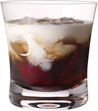 The White Russian cocktail is a classic blend of Kahlua, vodka, and cream, served on the rocks. White Russian Cocktail, White Russian Recipes, French Vanilla, Allrecipes, Mocha, Drinks, Tableware, Food, Anime
