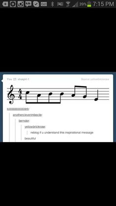 Everyone should see this.<<< absolute beauty>>>>I'm crying that was so beautiful <----- Thank you. I needed to see this today.<<it says cabbage.(for all y'all who aren't musical ur welcome) Band Nerd, Music Jokes, Music Humor, My Tumblr, Tumblr Funny, Band Jokes, Music Stuff, Fun Stuff, Just For Laughs