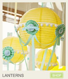 """If you've been dreaming of throwing a party """"Pinterest"""" worthy, you've got to check out Kara's shop! Omgoodness!"""