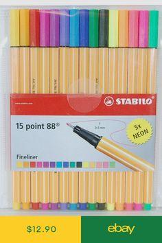 STABILO Art Pens & Markers Crafts #ebay