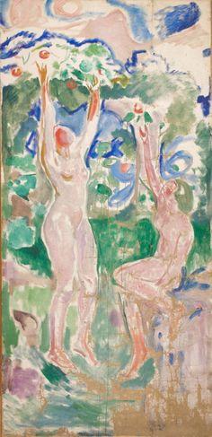 Women Harvesting, Edvard Munch c.1912