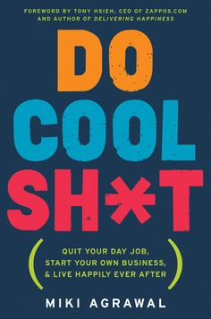 In Do Cool Sh*t, serial social entrepreneur, angel investor, and all-around cool sh*t–doer Miki Agrawal shows how to start a successful company—from brainstorming to raising money to getting press without any connections—all while having a meaningful life!   With zero experience and no capital, Miki Agrawal opened WILD, a farm-to-table pizzeria in New York City and Las Vegas, partnered up in a children's multimedia company called Super Sprowtz, and launched a patented high-tech underwear…