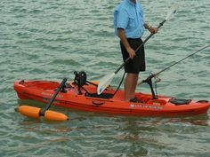 Kayak Outrigger Stabilizer Kayak or Canoe - Boat not included - Stand to Fish - Kayaks