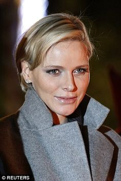 Princess Charlene showed no signs of any sleepless nights as she attended the traditional Sainte Devote celebration in Monaco