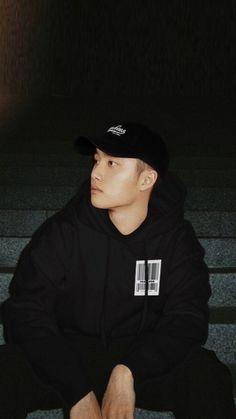 Kyungsoo, Kaisoo, Grunge Couple, Baekhyun Wallpaper, Exo Lockscreen, Exo Fan Art, Exo Korean, Exo Do, Do Kyung Soo