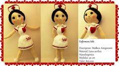 Enfermera amigurumi