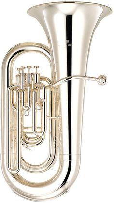 Yamaha YEB-321S Intermediate Series Eb Tuba | 4/4 Size | Silver