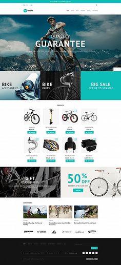 Impresta - Bike Shop MotoCMS Ecommerce Template