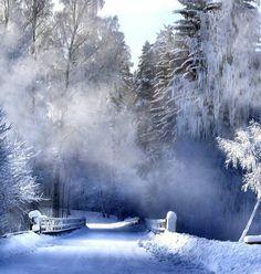 Bridge Crossing in Winter by love clothing