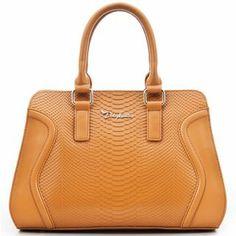 Luxurious Crocodile Embossed Satchel Handbags for Ladies: USD $94.29