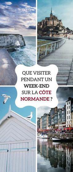 Des vacances en Normandie sont idéales le temps d'un week-end. Voici nos conseils de visite sur les côtes pour se ressourcer ! #Normandie #Weekend #RoadTrip #Evasion #Vacances