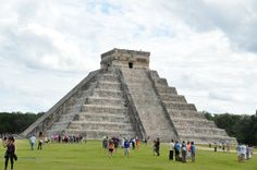 The famoust and beautiful Chichen Itza in Yucatan, Mexico