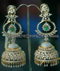 Tremendous Jhumkas and Hangings | Jewellery Designs