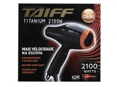 Secador de Cabelo Taiff Titanium Colors - 2100W 2 Velocidades com as melhores condições você encontra no Magazine Docedigital. Confira!