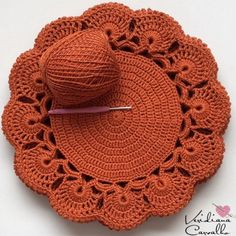 Crochet Placemat Patterns, Crochet Doily Patterns, Crochet Designs, Crochet Doilies, Crochet Flowers, Crochet Mat, Crochet Home, Crochet Crafts, Crochet Projects