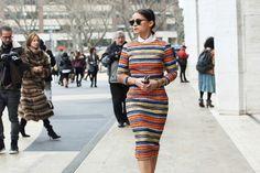 ¿cómo usar una falda lápiz? StyleInLima Miroslava Duma. Pencil skirt silhoutte