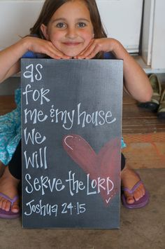 As for me and my house we will serve The Lord on Etsy, $45.00