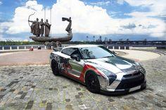 Nissan GT-R AMS Alpha 12 Nissan Godzilla, Gumball 3000, Nissan Infiniti, Japanese Imports, Nissan Gt, Love Car, Performance Cars, Car Manufacturers, Supercars