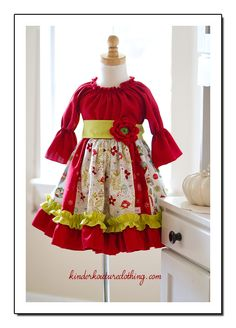 Kinder Kouture is an online retailer for quality handmade girl's clothing with a touch of class. Princess Outfits, Cute Girl Outfits, Kids Outfits, Girls Dresses Sewing, Little Girl Dresses, Child Fashion, Little Girl Fashion, Sewing For Kids, Baby Sewing