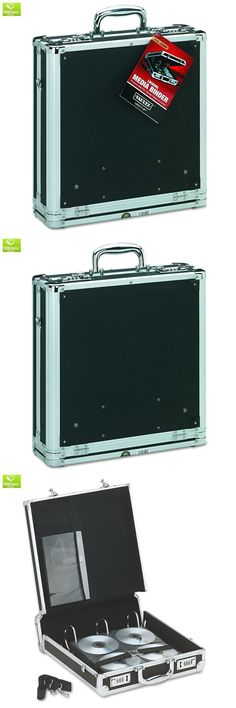 CD DVD and Blu-ray Discs: Vaultz Locking Media Binder, 200 Cd Dvd Capacity, Black With Chrome Accents, 14 -> BUY IT NOW ONLY: $48.58 on eBay!