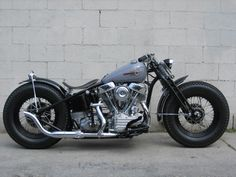 Bitchin Bobber! For more go to www.bikesncustoms.com #bikesncustoms