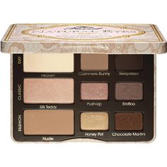 Too Faced Natural Eye Neutral Eye Shadow Collection ($36) ❤ liked on Polyvore featuring beauty products, makeup, eye makeup, eyeshadow, beauty, eyes, eye shadow, fillers, palette eyeshadow and too faced cosmetics
