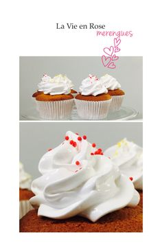 Cupcakes Limón Merengue Italiano