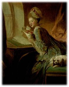 <연애편지 by 장 오노레 프라고나르> 미소를 짓고 있는 여인의 표정이 매우 아름답다. 홍조도 살짝 띄고 있다. 여인이 설레어 하고 행복해 하는 것으로 보아 사랑하는 사람으로부터 오랫동안 기다리던 편지를 받은 듯 하다. 강아지도 이런 주인의 감정을 알고 있는 듯 하다. 여인이 상체를 약간 숙이고 있는 것으로 보아, 쑥쓰러워서 다른 사람에게 편지를 보여주고 싶지 않아하는 것 같다. 여인의 책상 앞에 창문이 있는데, 이 창문으로 누가 편지를 전해주러 오는지 계속 쳐다보며 확인했을 것으로 보인다. 어떻게 보면 고작 종이 한 장을 받았을 뿐인데, 이렇게 설레어 하는 여인의 표정을 통해 편지의 힘이 얼마나 위대한지 다시 느낄 수 있었다.