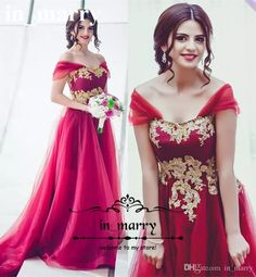 Sexy Red Arabic Long Prom Dresses Gold Lace Appliques 2017 A Line Off Shoulder Plus Size Pearls Beaded African Women Formal Evening Gowns 2017 Prom Dresses A Line Prom Dresses 2K17 Prom Dresses Online with $224.0/Piece on In_marry's Store | DHgate.com