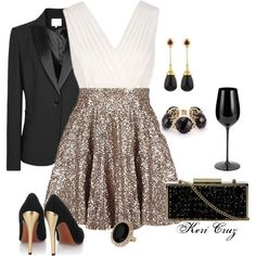 20 Polyvore Combinations for New Years Eve