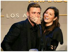 Justin Timberlake and Jessica Biel / Right Between Your Lips