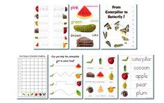 Hungry Caterpillar Preschool Pack
