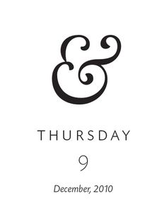 my favorite ampersand | big calson font