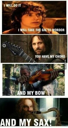 I will take the gig to mordor