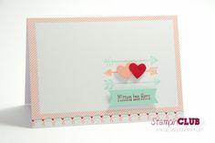 DSC_2975 Stampin Up Valentinstag Jede Menge Liebe Sweet Sayings Cards Herzliche Grüße Karten Flowerfull heart Kurzer Gruß Liebesgrüße Love y...